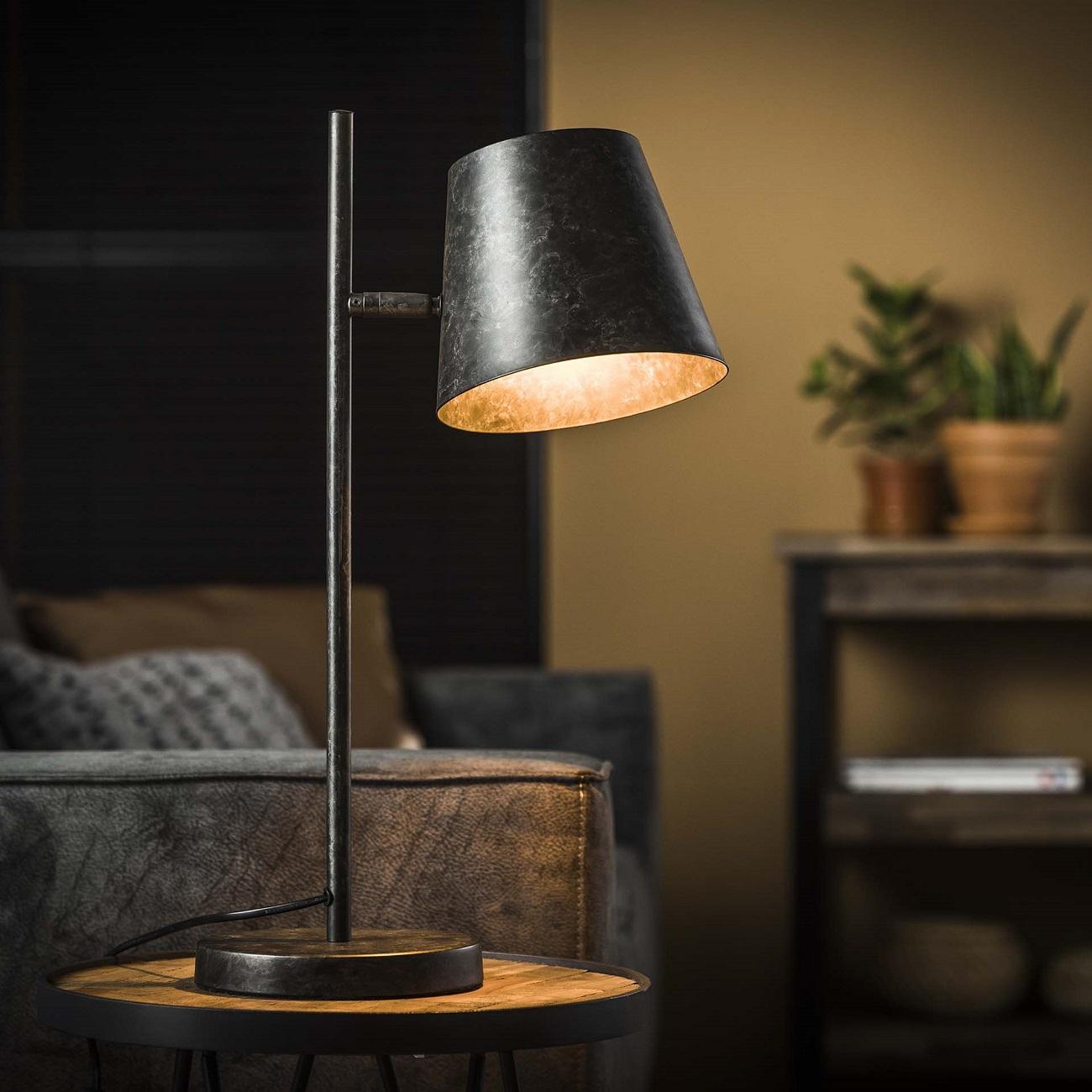 Tafellamp Class 55 cm hoog in Charcoal | Zaloni