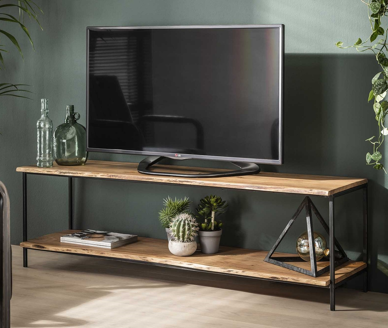 Tv-meubel Edge 150 cm breed in acacia naturel | Zaloni