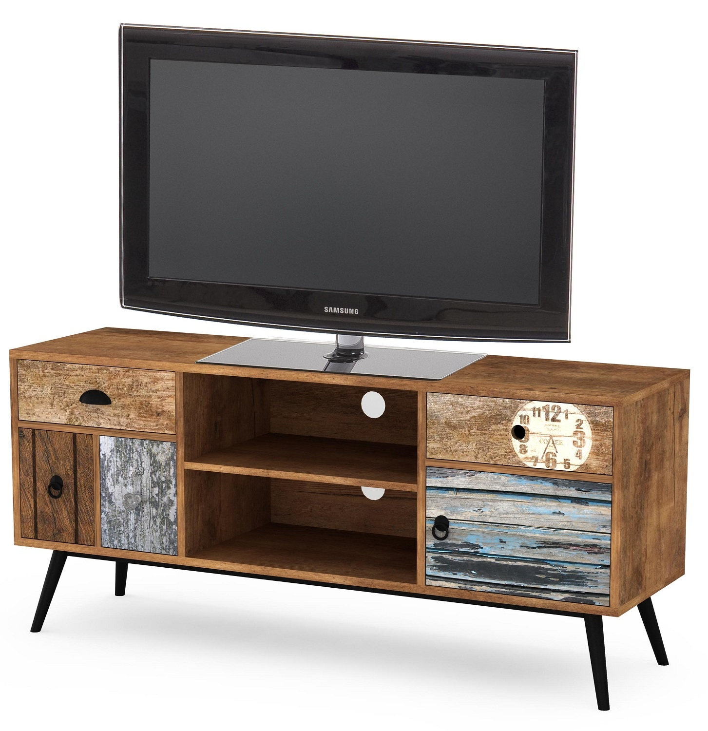 Tv-meubel Lima 120 cm breed in multicolor   Home Style