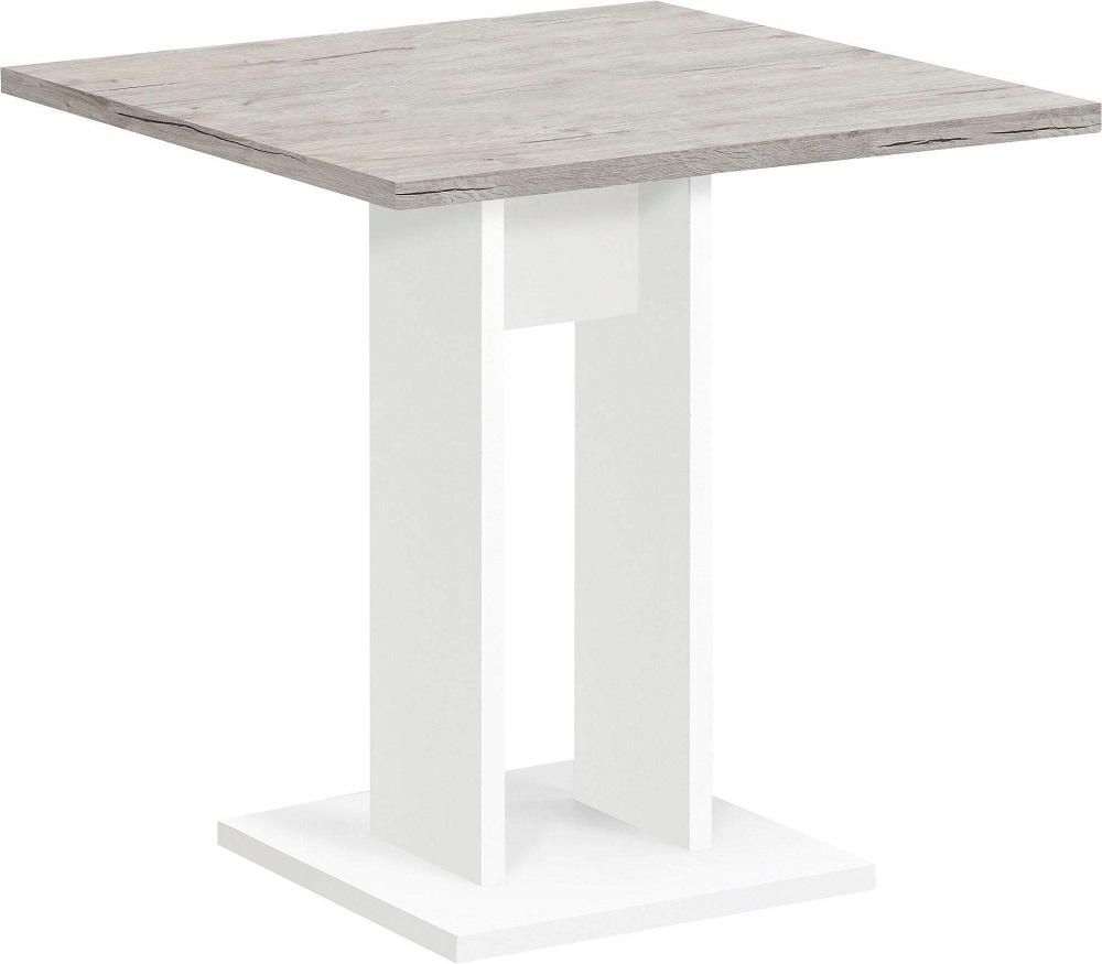 Vierkante eettafel Bandol 70x75x70 cm breed in zand eiken | FD Furniture