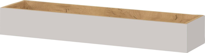 Wandplank Mesa 101 cm breed in Cashmere met navarra eiken | Germania