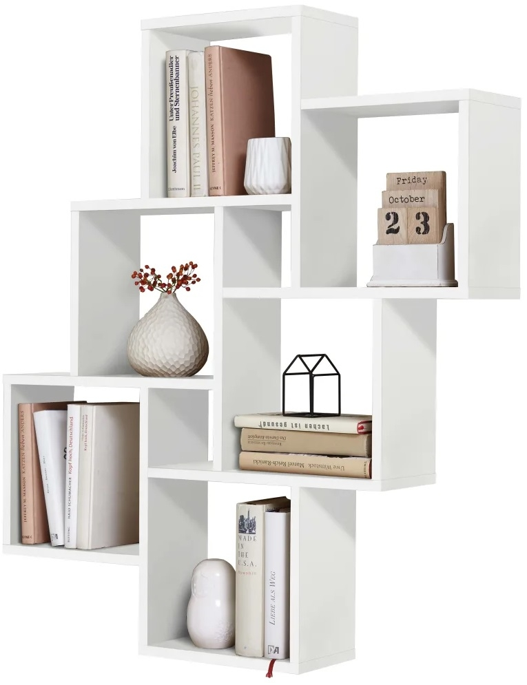 Wandrek Markis 94 cm hoog in wit   FD Furniture