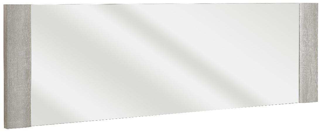 Wandspiegel Sandro 190 cm breed in licht grijs eiken | Gamillo Furniture