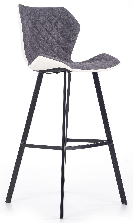 Barkruk Dorado 113 cm hoog in grijs | Home Style