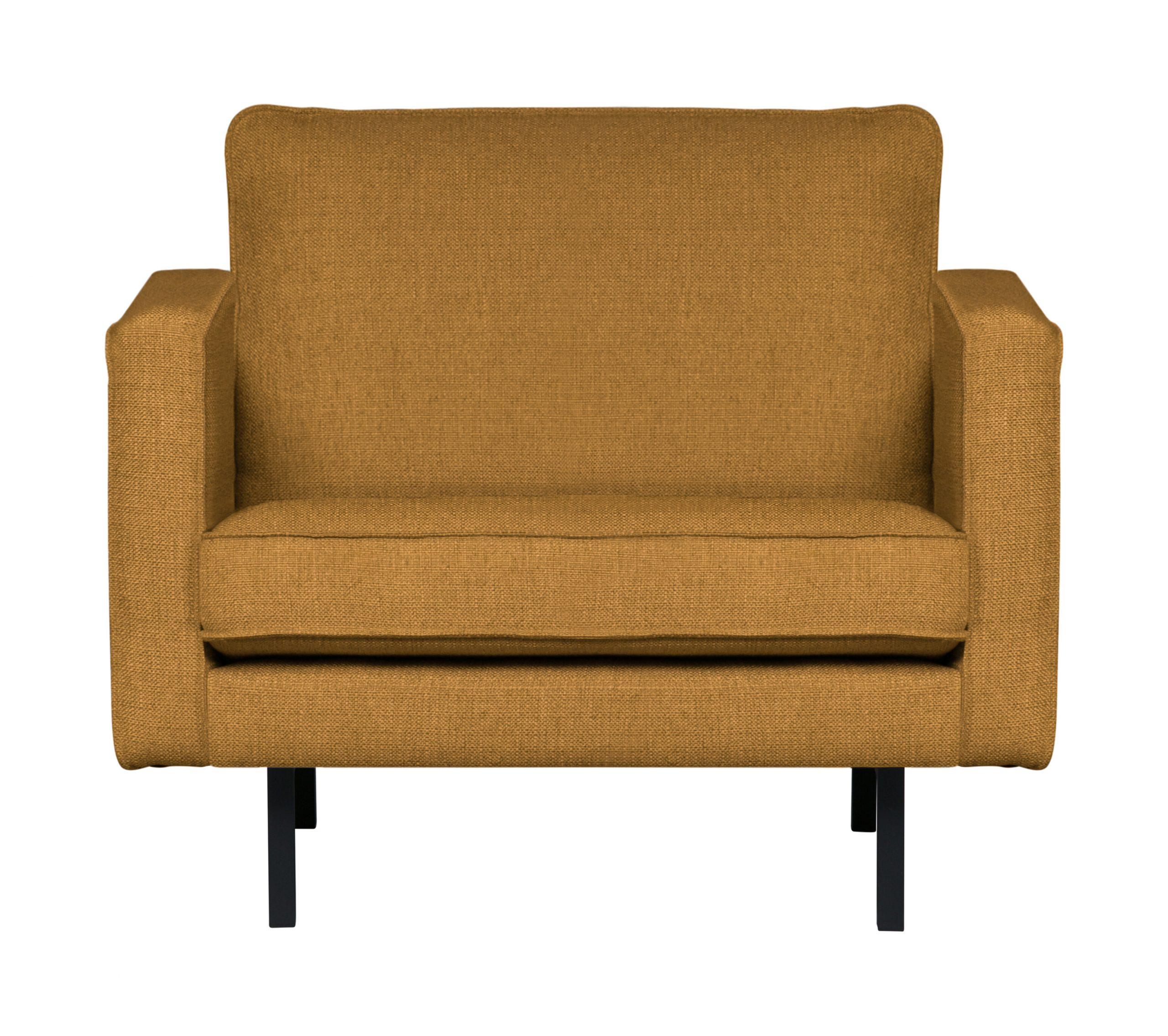 BePureHome Fauteuil 'Rodeo' Stretched, kleur Fudge | BePureHome