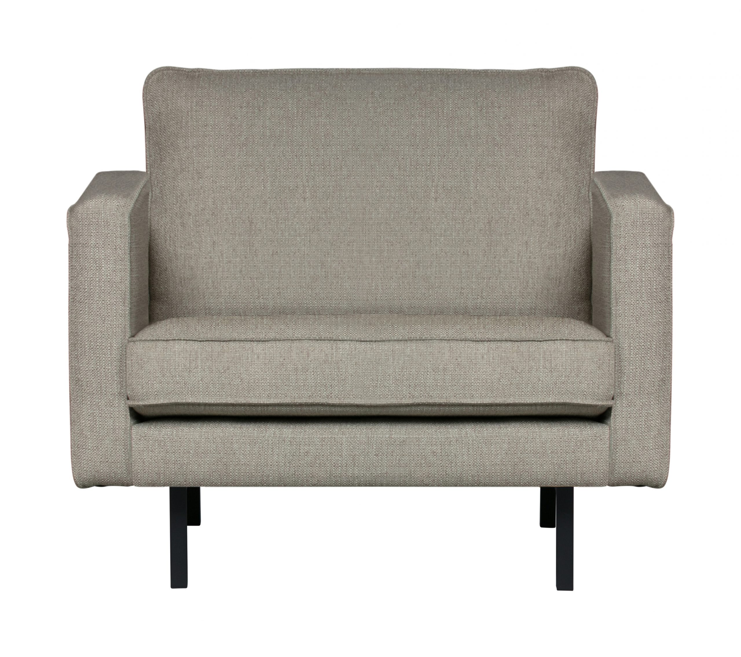 BePureHome Fauteuil 'Rodeo' Stretched, kleur Nougat | BePureHome