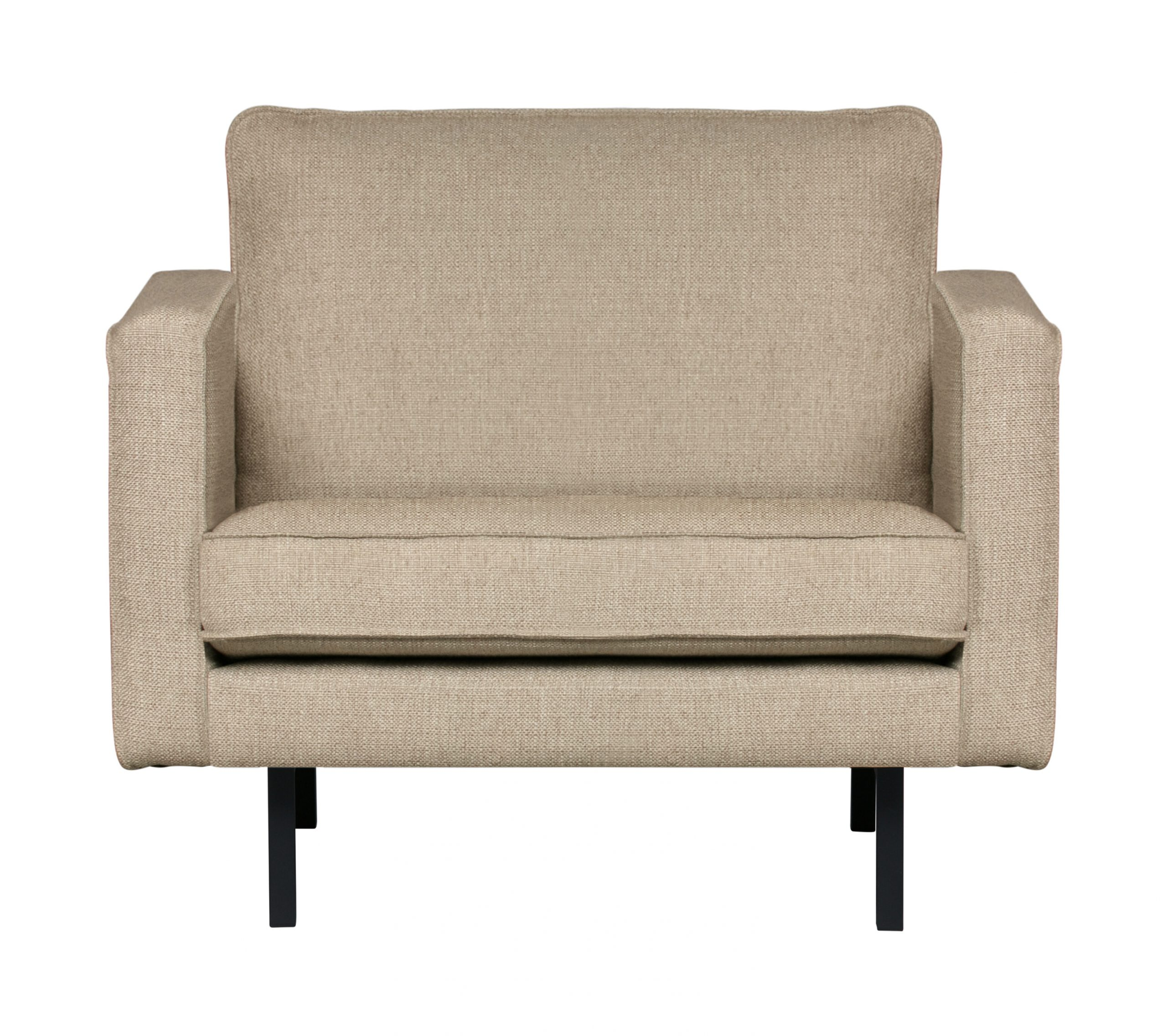 BePureHome Fauteuil 'Rodeo' Stretched, kleur Sahara | BePureHome
