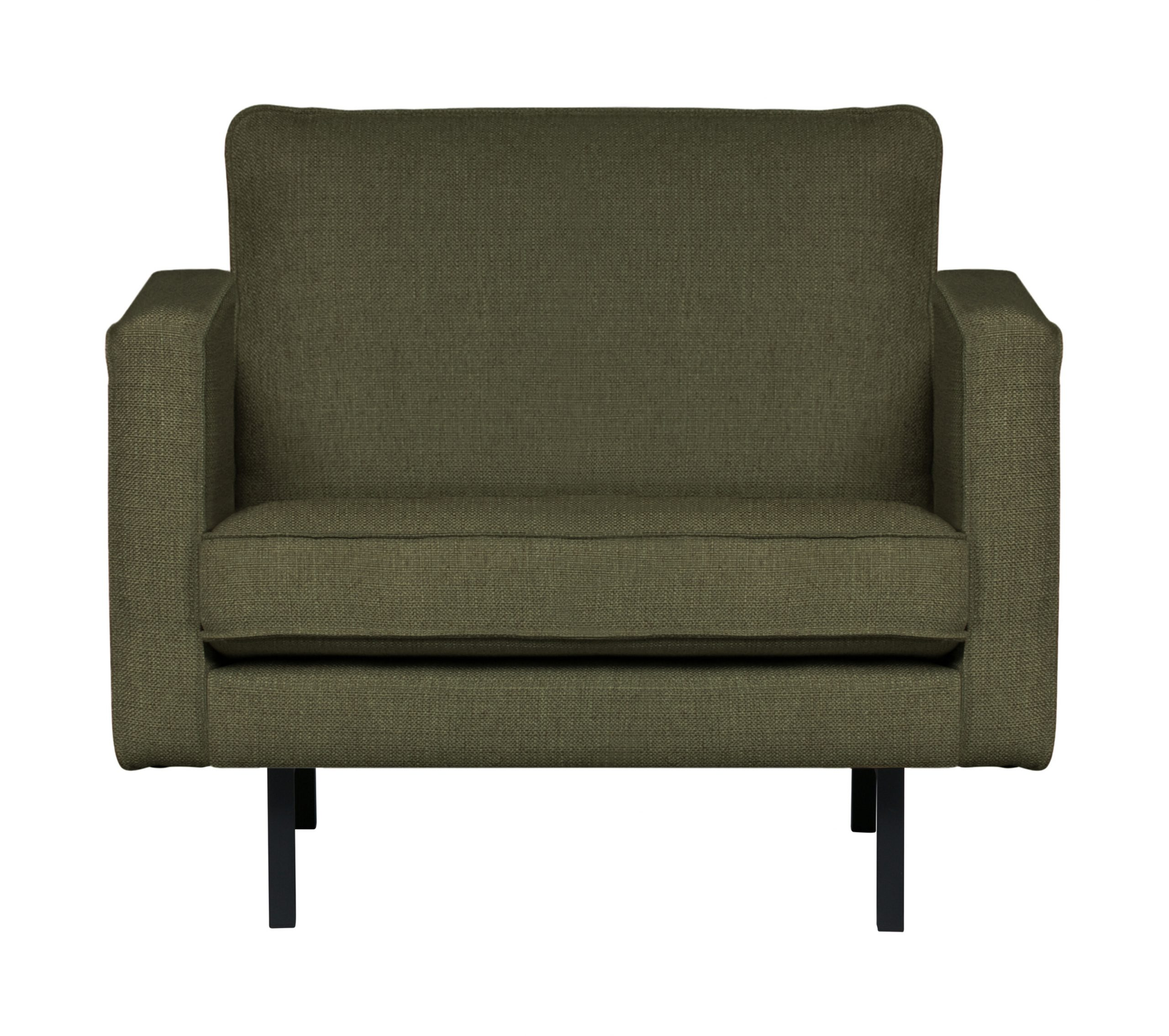 BePureHome Fauteuil 'Rodeo' Stretched, kleur Tea Leave | BePureHome