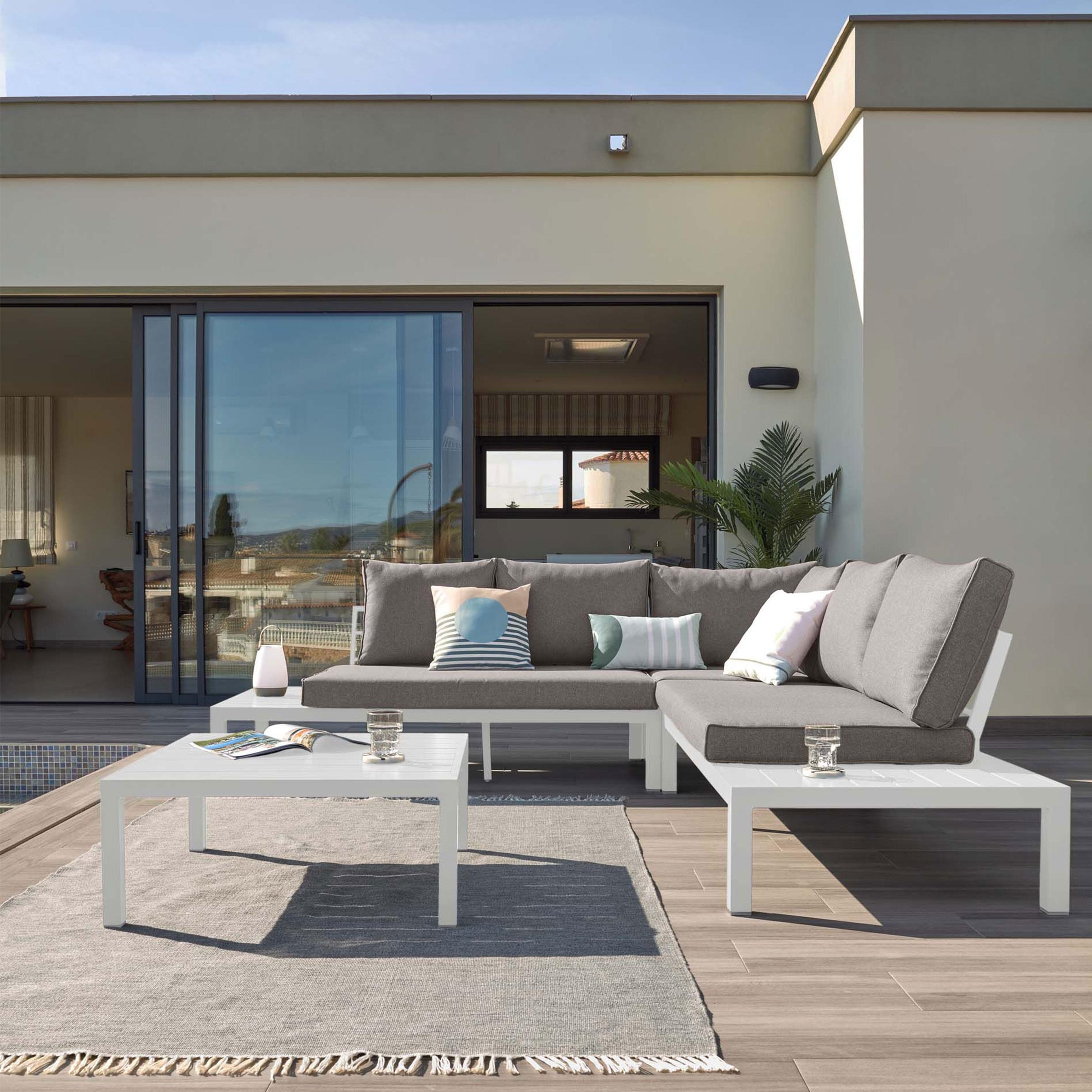 Kave Home Loungeset 'Duka' kleur Wit | Kave Home