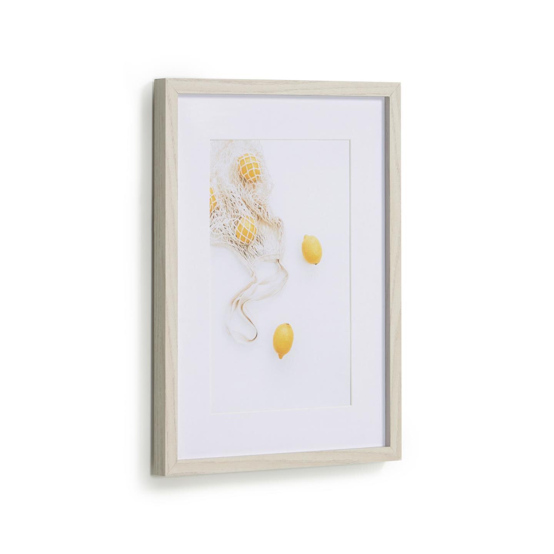 Kave Home Schilderij 'Leyla' Citroenen, 40 x 30cm | Kave Home
