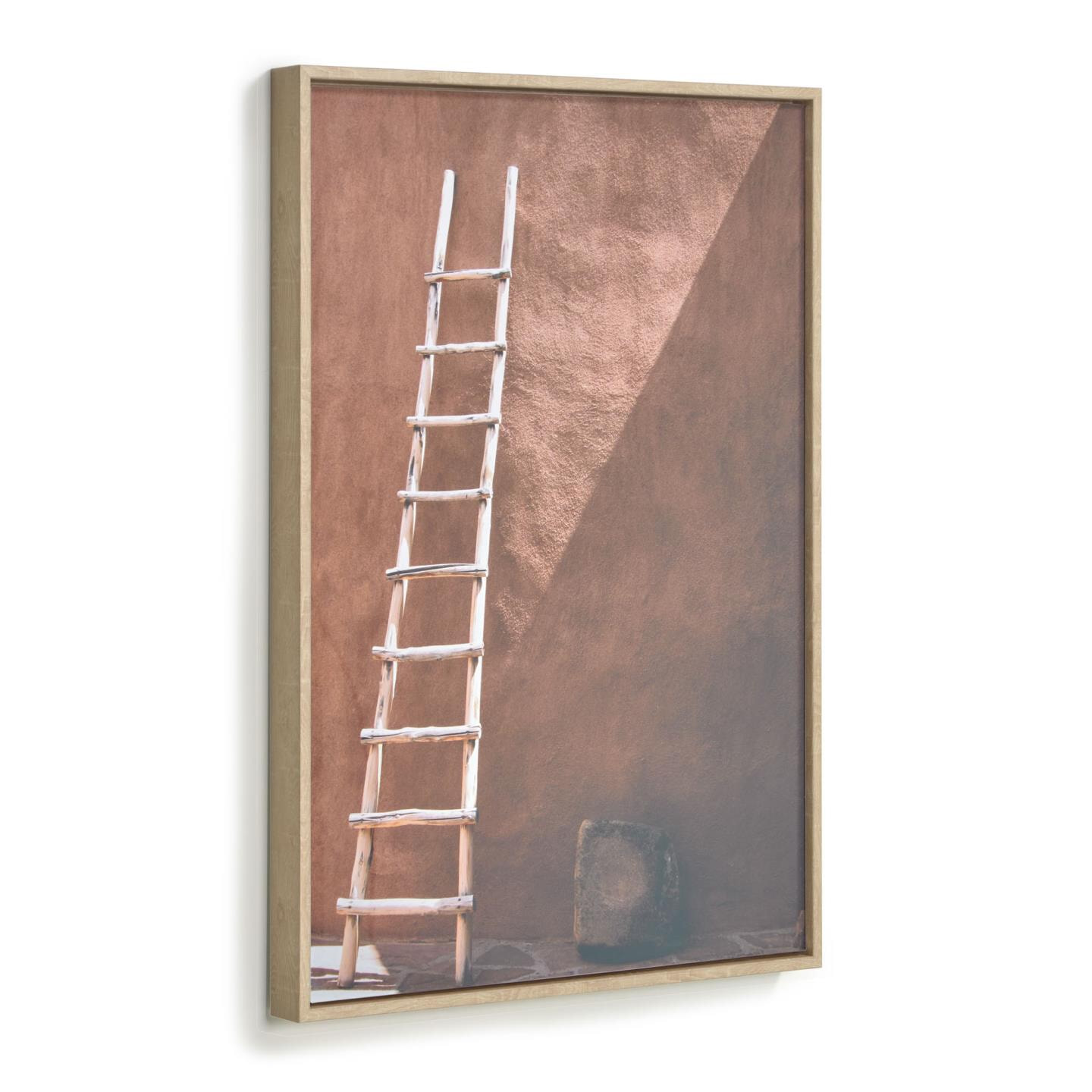 Kave Home Wandpaneel 'Lucie' ladder, 70 x 50cm | Kave Home