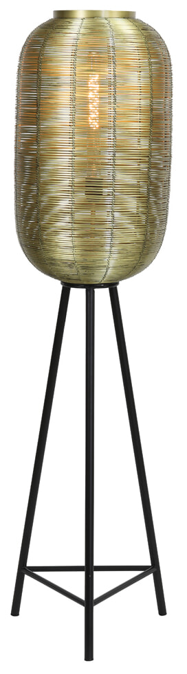 Light & Living Vloerlamp 'Tomek' 136cm, kleur Antiek Brons | Light & Living