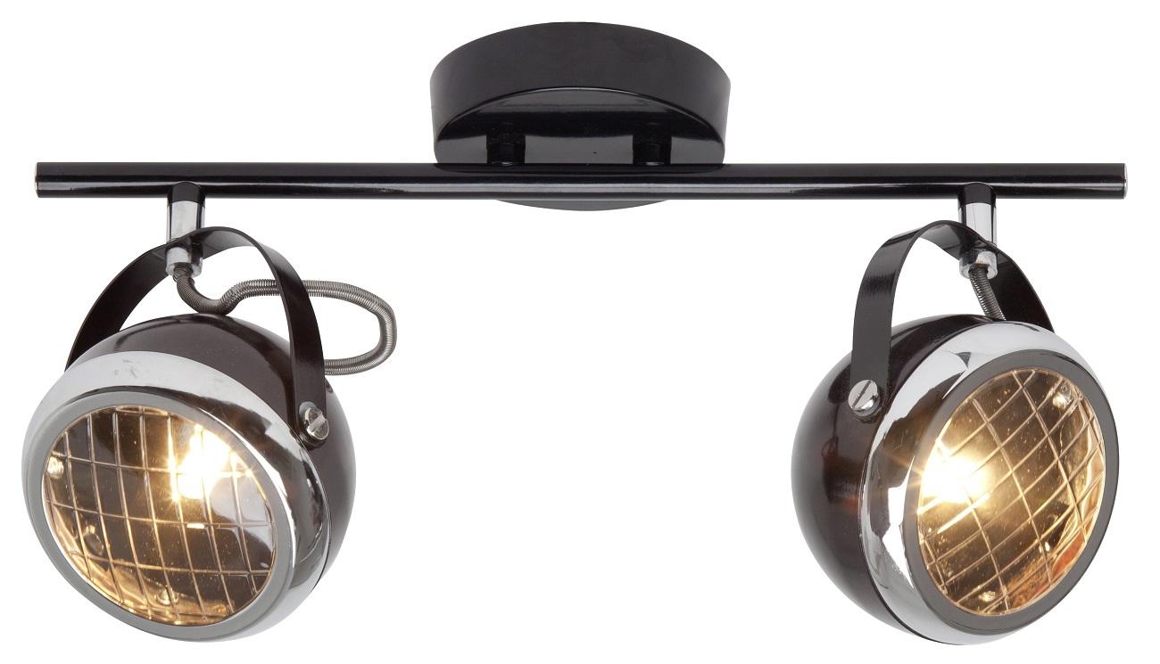 Plafondlamp Relax 2xG9 max 33Watt in zwart | Brilliant