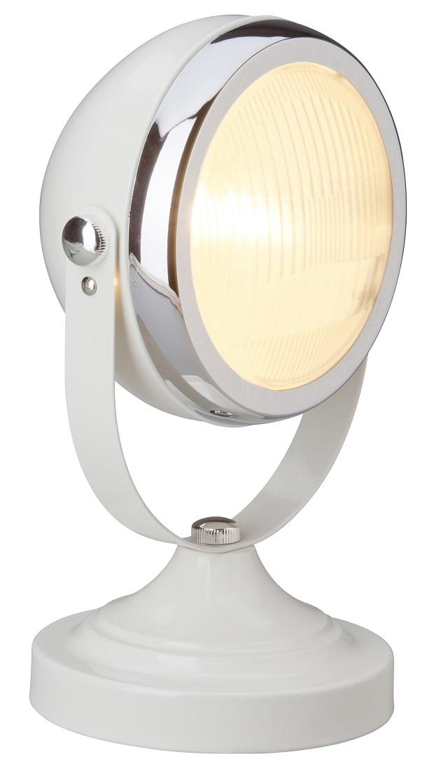 Tafellamp Relax 1x E14 van 28W in hoogglans creme | Brilliant