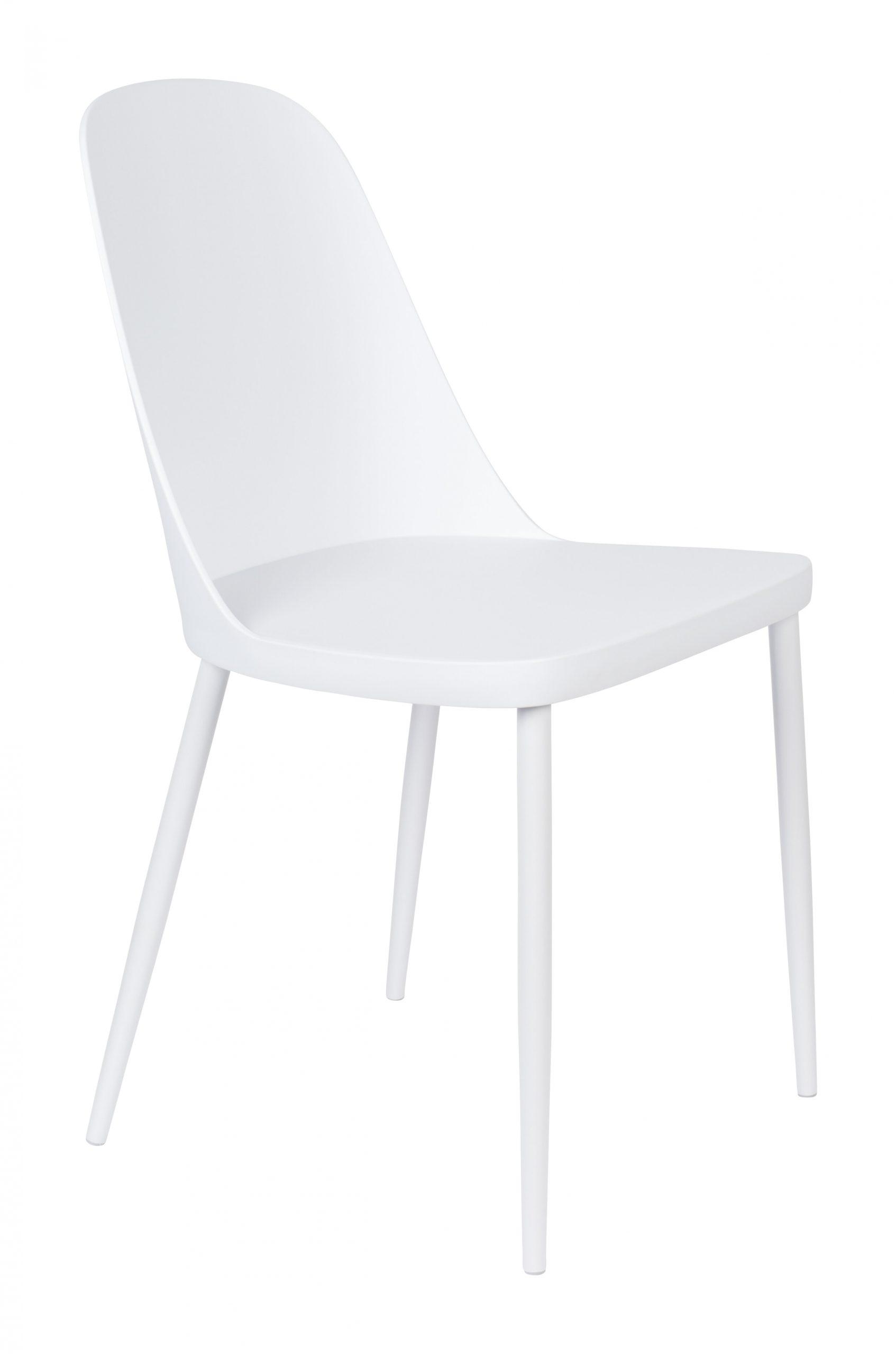 ZILT Eetkamerstoel 'Pip', kleur Wit | ZILT